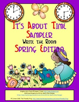 It's About Time Sampler: Write the Room (Spring Edition)