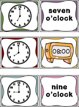 Time ~ Hour and Half Hour