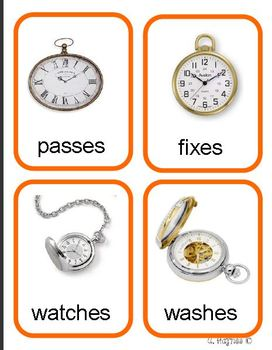 It's About Time present and future tense verbs