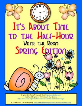 It's About Time to the Half-Hour: Write the Room (Spring Edition)