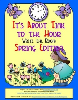 It's About Time to the Hour: Write the Room (Spring Edition)