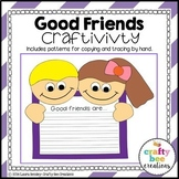 Friendship Craft {Good Friends}
