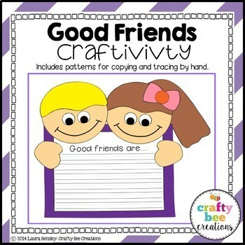 It's All About Friendship Craftivity