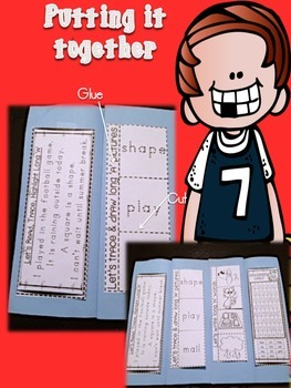 It's All About Long 'u' Word Work Foldable