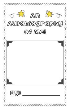 It's All About ME! {A Mini Autobiography Writing Unit}