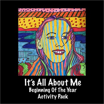It's All About Me - Beginning Of The Year Activity Pack