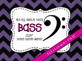 Bass Clef Note Name Game- It's All About That Bass Clef