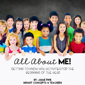 All About ME! - Getting to Know You Icebreakers