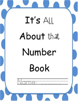 It's All About that Number Book