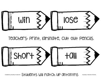 It's All About the Antonyms
