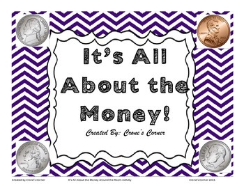 It's All About the Money Around the Room Activity