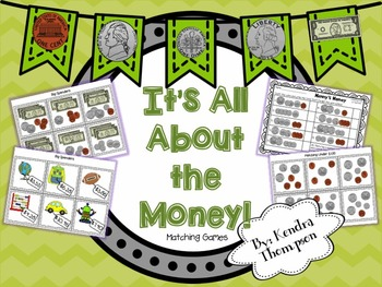 It's All About the Money: Matching Games