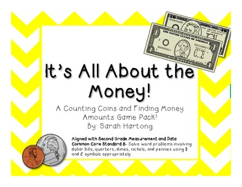 It's All About the Money {Money Game Pack}