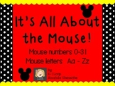 It's All About the Mouse!  Clip art mouse letters and numbers!!