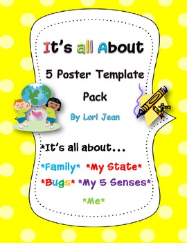 It's All About...{5 Bargain Posters} Bundled Set