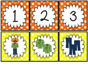 It's All Fall! Literacy and Math Center Activities for Kinder