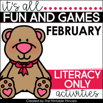 It's All Fun & Games {February Activities for Kindergarten