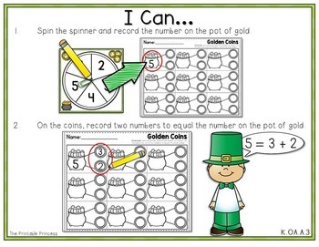 It's All Fun & Games {March Activities for Kindergarten} MATH ONLY