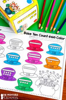 St. Patrick's Day Math & Literacy Activities for Kindergarten
