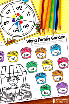 It's All Fun & Games {Spring Themed Activities for Kindergarten} LITERACY ONLY