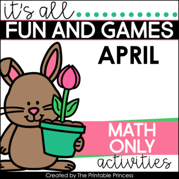 It's All Fun & Games {Spring Themed Activities for Kinderg