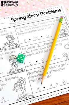 Spring Activities and Partner Games for Kindergarten