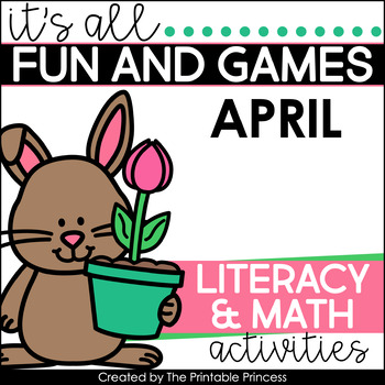 It's All Fun & Games {Spring Themed Math & Literacy Activi