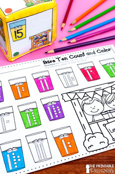 It's All Fun & Games {Summer Themed Activities for Kindergarten} MATH ONLY