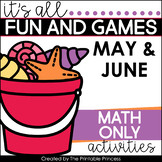 It's All Fun & Games {Summer Themed Activities for Kinderg