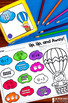 Summer Activities and Partner Games for Kindergarten {Includes Math & Literacy}