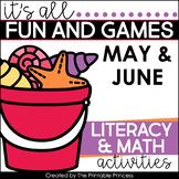 Summer Activities and Partner Games for Kindergarten Inclu