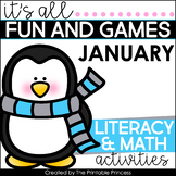 Winter Activities {Math and Literacy for Kindergarten}