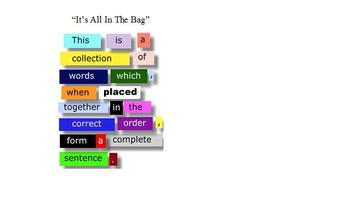 """It's All In The Bag"" Social Studies Vocabulary"