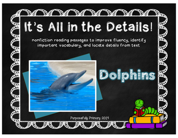 It's All In The Details! Dolphins Close Reading
