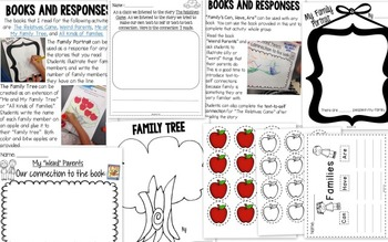 It's All In The Family- A Family Unit for Little Learners