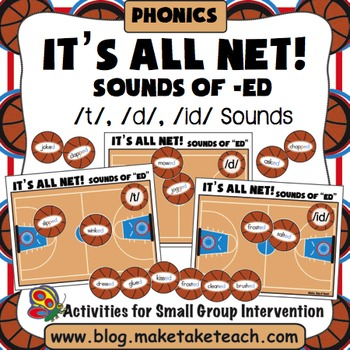 Sounds of -ed - Past Tense- It's All Net! A Basketball Game