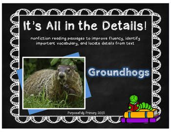 It's All in the Details! Groundhogs Close Reading