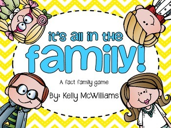 Fact Families - It's All in the Family!