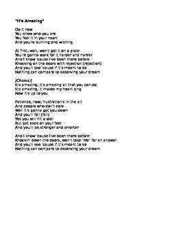 It's Amazing - Poetry Analysis
