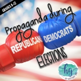 Elections: Propaganda in Politics {Freebie!} (Print and Digital)