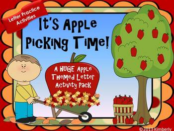 It's Apple Picking Time! {8+ Uppercase/Lowercase Letter Ac