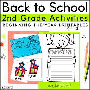 Back to School Second Grade