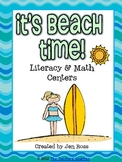 It's Beach Time! Literacy Centers