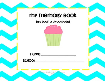 It's Been a Sweet Year!  {End of Year Memory Book and Certificate}