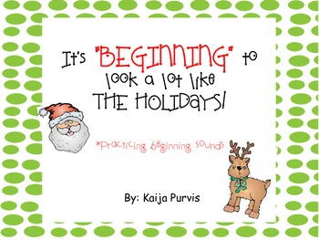 """It's """"Beginning"""" to Look A lot like the Holidays."""