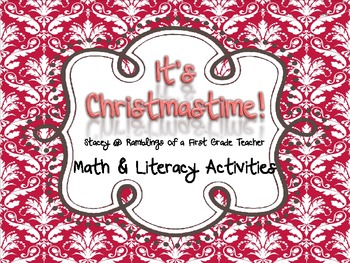 It's Beginning to Look Like Christmas Literacy Activities
