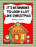 It's Beginning to Look a Lot Like Christmas Literacy Centers