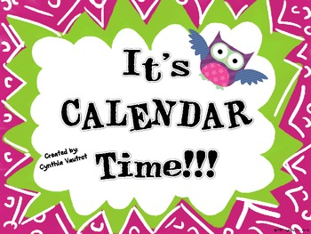 It's CALENDAR Time! - OWLS