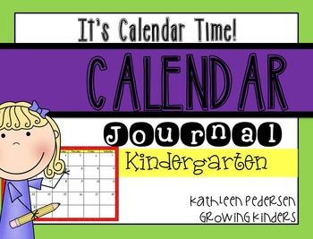 It's Calendar Time! Interactive Daily Calendar Book {K}