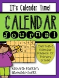 It's Calendar Time! Interactive Daily Calendar Journal (1-2)